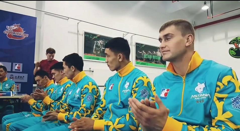 Astana Arlans вышла на первое место в азиатской группе WSB