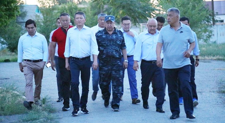 Тимур Кулибаев и Кайрат Боранбаев выделят 1 млрд тенге на восстановление школы и детского сада г. Арыси
