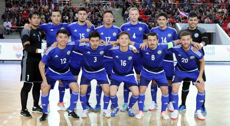Казахстан закончил год четвертым в футзальном рейтинге УЕФА