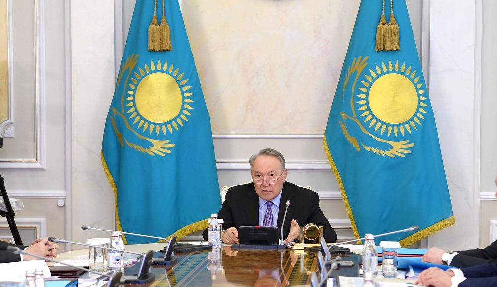Нурсултан Назарбаев провел заседание Совета безопасности РК