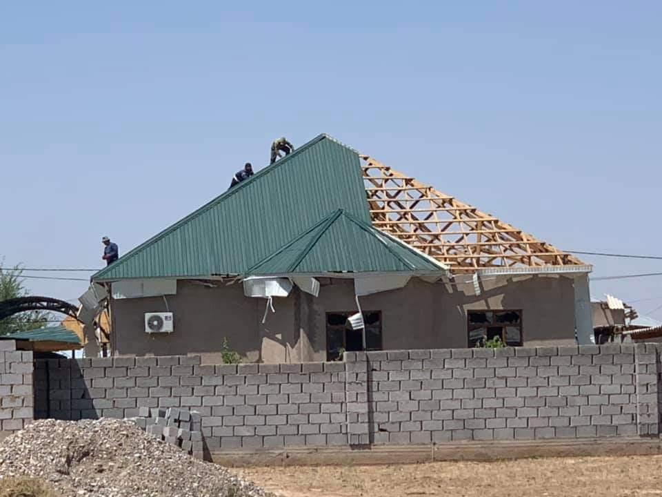 В 435 домах Арыси начаты ремонтные работы