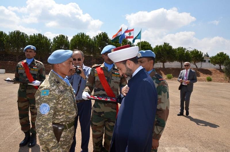 Казахстанские миротворцы награждены медалями ООН
