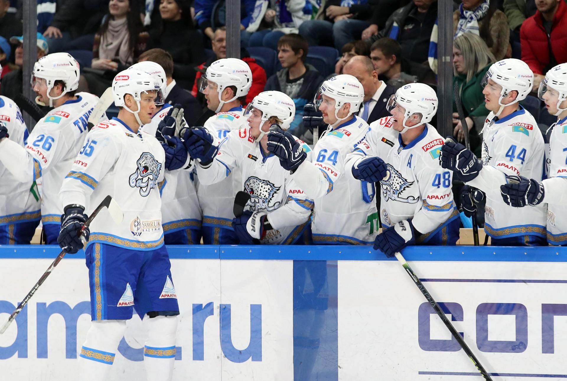 «Барыс» отправился на выездную сессию КХЛ