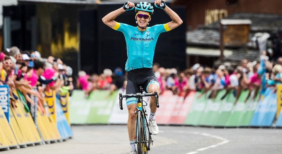 «Джиро д'Италия»: Бильбао взлетел в «генерале» на 12 строк