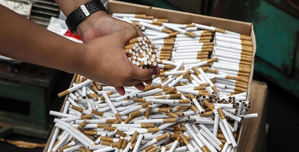 Более 800 тысяч пачек контрабандных сигарет задержали в Атырау