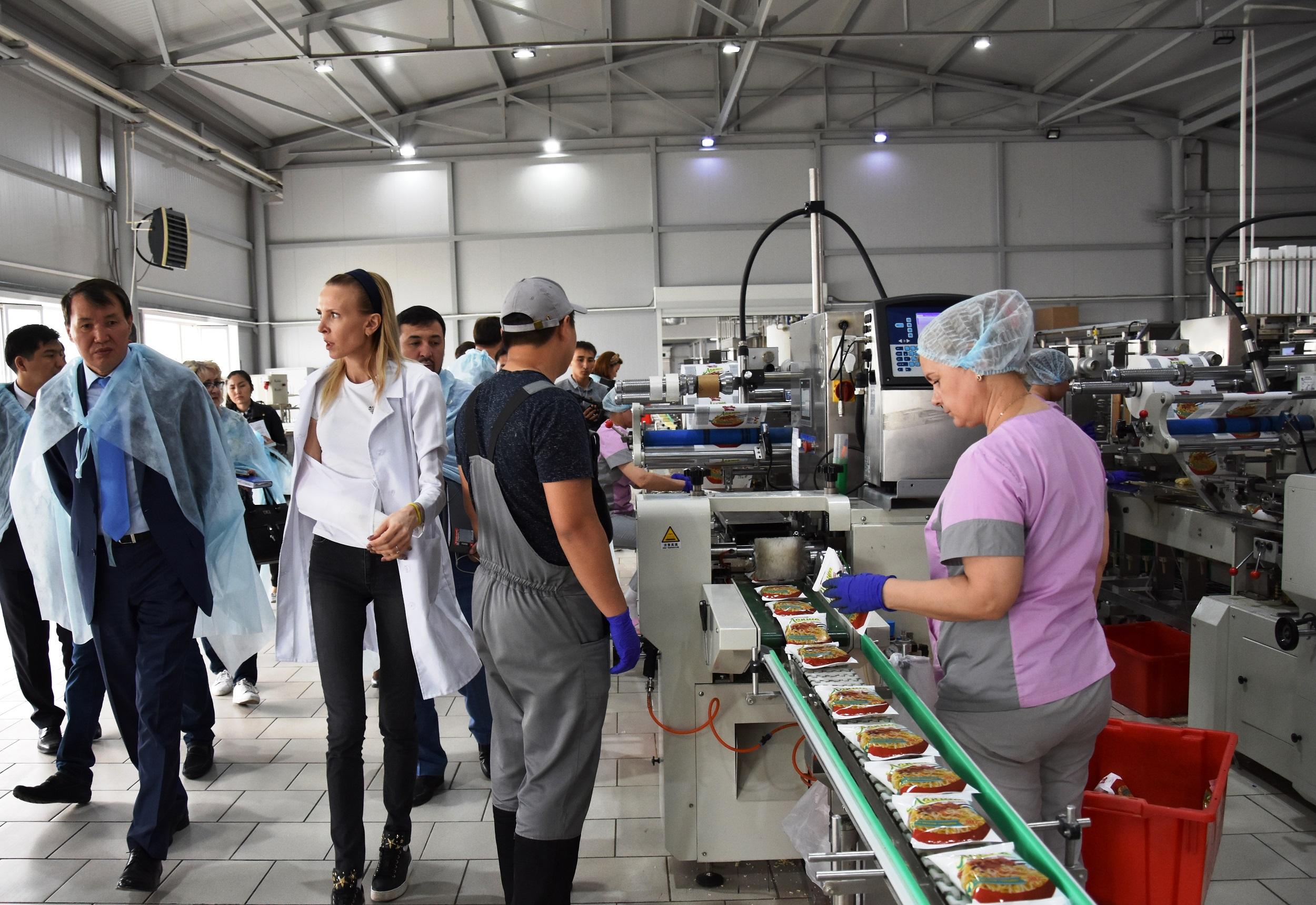 В СКО планируют открыть завод по производству мыла