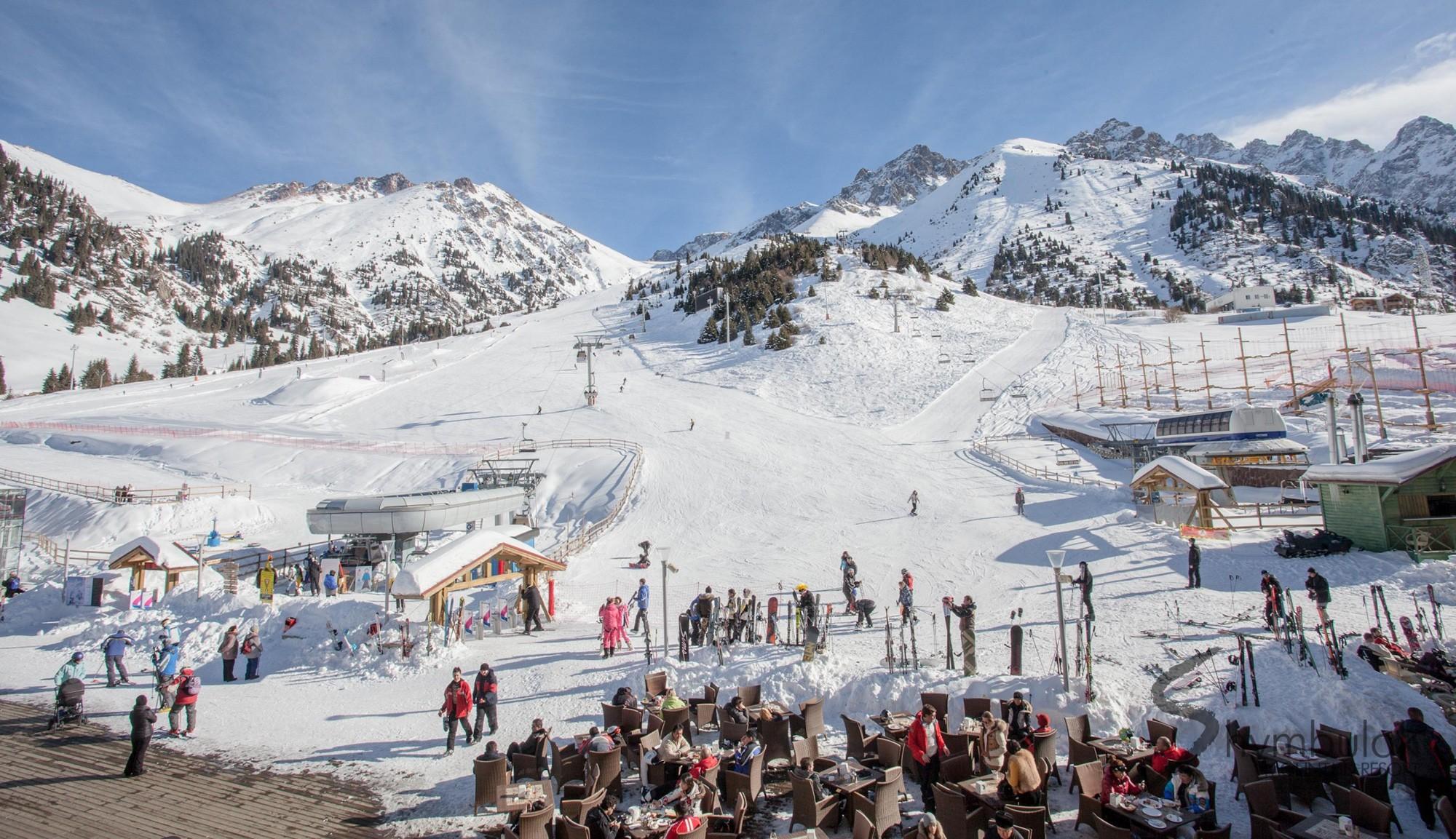 Шымбулак вошёл в десятку дешёвых горнолыжных курортов мира