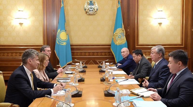 Касым-Жомарт Токаев поблагодарил Citigroup за активное участие в работе Совета по управлению МФЦА