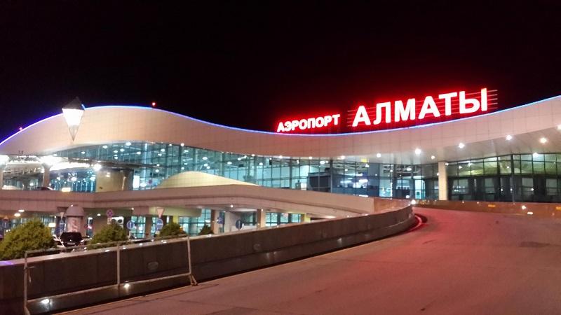 В Алматы сокращено количество международных рейсов