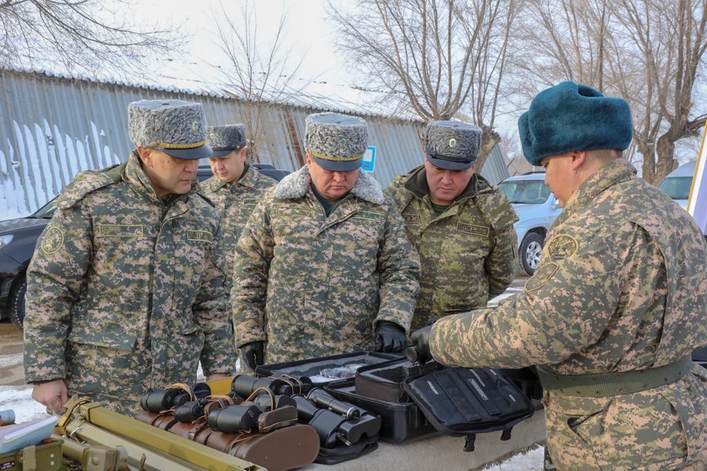Глава Министерства обороны проверил подготовку второй сводной миротворческой роты