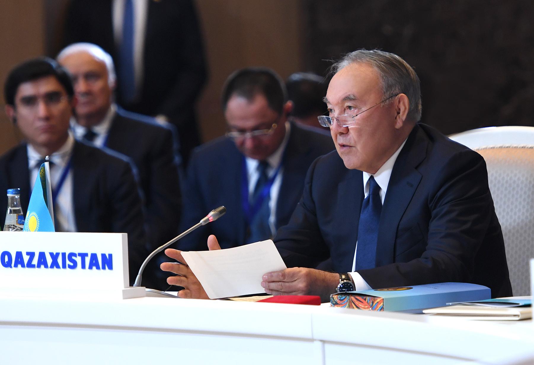 Елбасы Нурсултан Назарбаев принял участие в Седьмом заседании Совета сотрудничества тюркоязычных государств