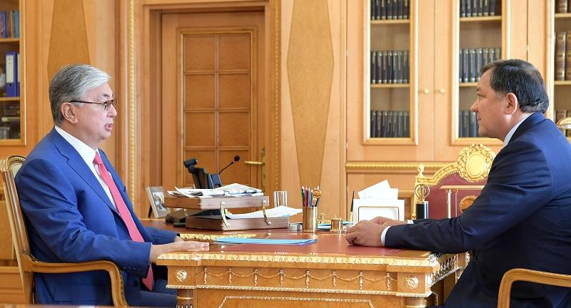 Касым-Жомарт Токаев отметил необходимость модернизации инфраструктуры Атырауской области