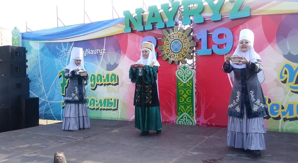 В Усть-Каменогорск пришел HappyНаурыз