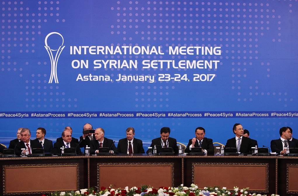 Следующий раунд переговоров по Сирии в Казахстане пройдет в марте 2020 года