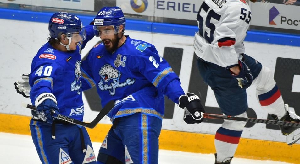 Плей-офф КХЛ: «Барыс» снял заклятье первого гола