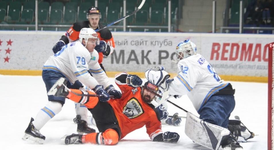 «Номад» одержал самую крупную победу в ВХЛ