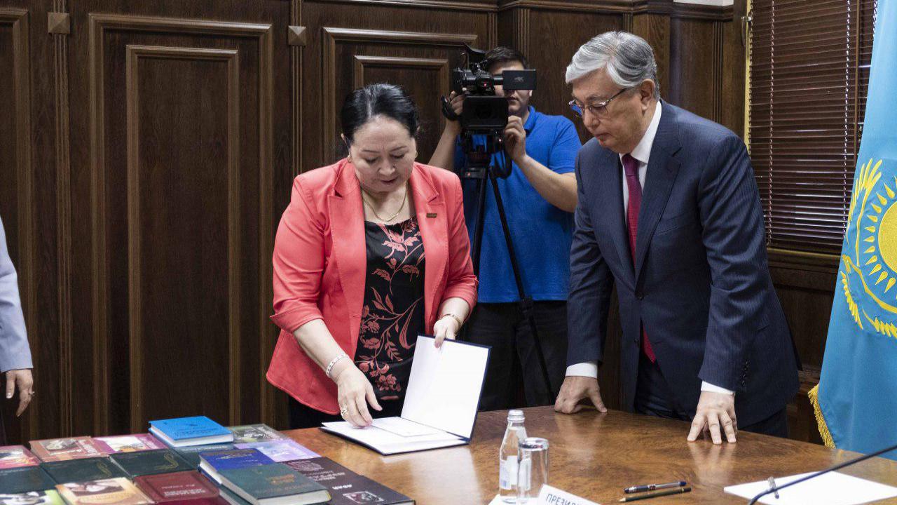 Касым-Жомарт Токаев успешно сдал экзамен на знание государственного языка