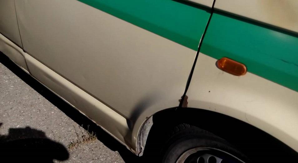 На инкассаторскую машину напали в Туркестанской области