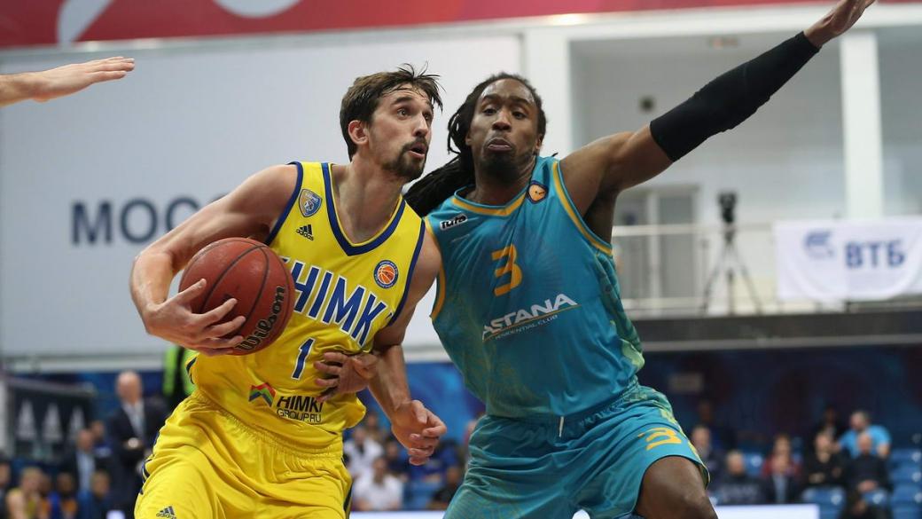 Единая лига ВТБ: «Астана» стала пятой жертвой «Химок»