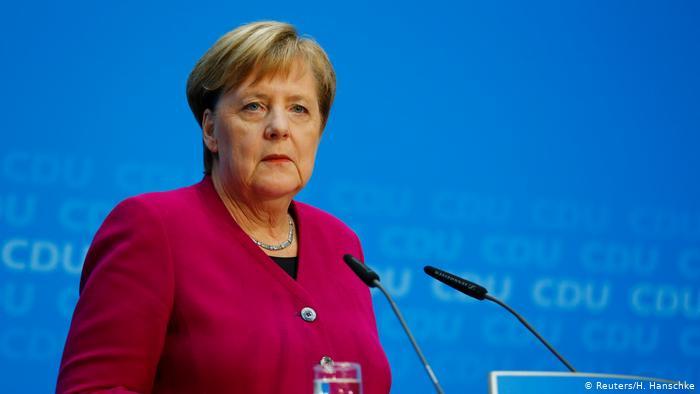Меркель сдала анализ на Covid-19, результат отрицательный