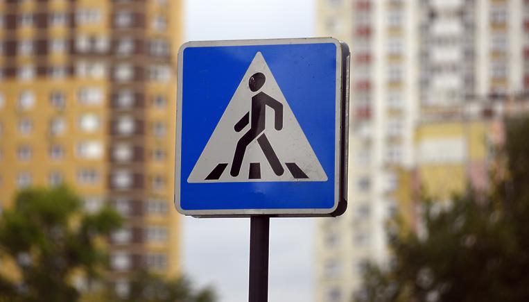 Пешеходный переход на солнечных батареях появился в Уральске