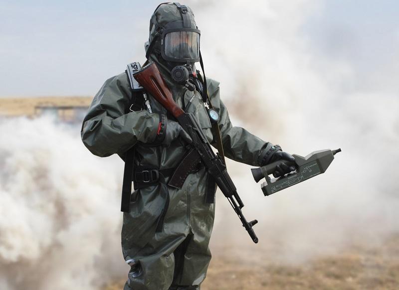 День войск радиационной, химической и биологической защиты прошел в РК