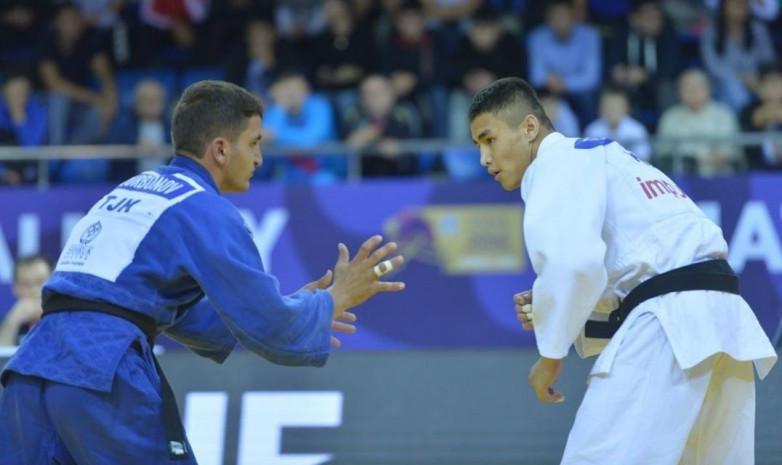 Международный турнир по дзюдо: у казахстанцев три золота