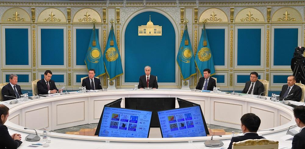 Касым-Жомарт Токаев поручил правительству Казахстана в кратчайшие сроки запустить Smart Data Ukimet