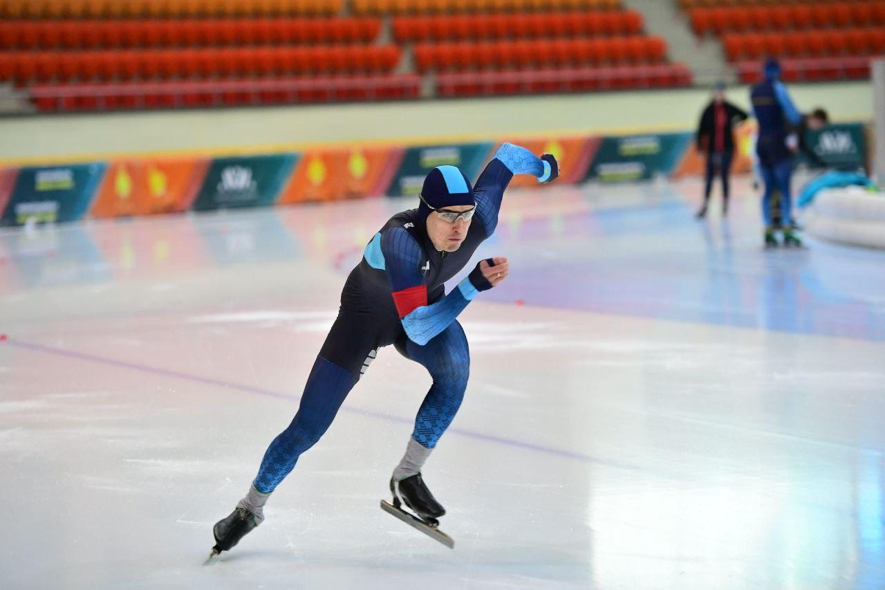 Команда Казахстана по конькобежному спорту проводит онлайн-сборы