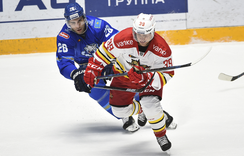 «Барыс» остался на четвертом месте в таблице КХЛ после поражения «Куньлунь РС»