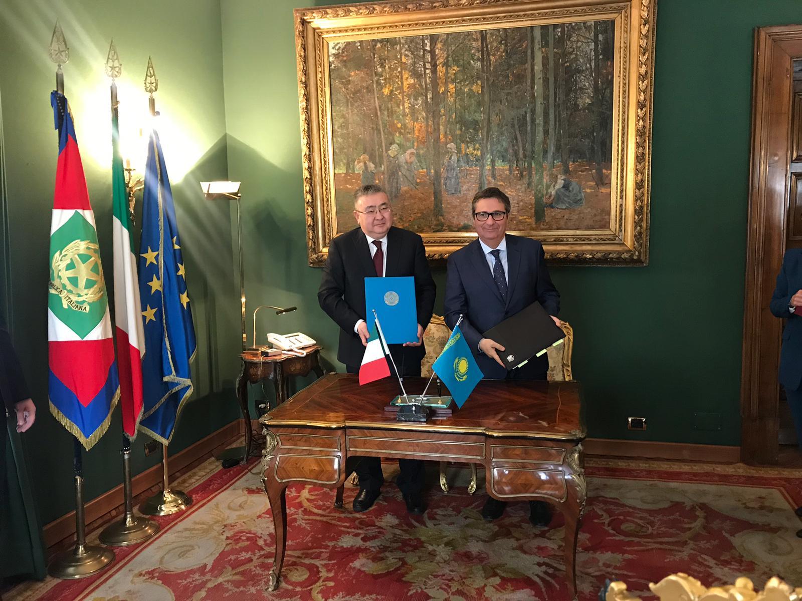 Казахстан и Италия будут совместно готовить и обучать судей