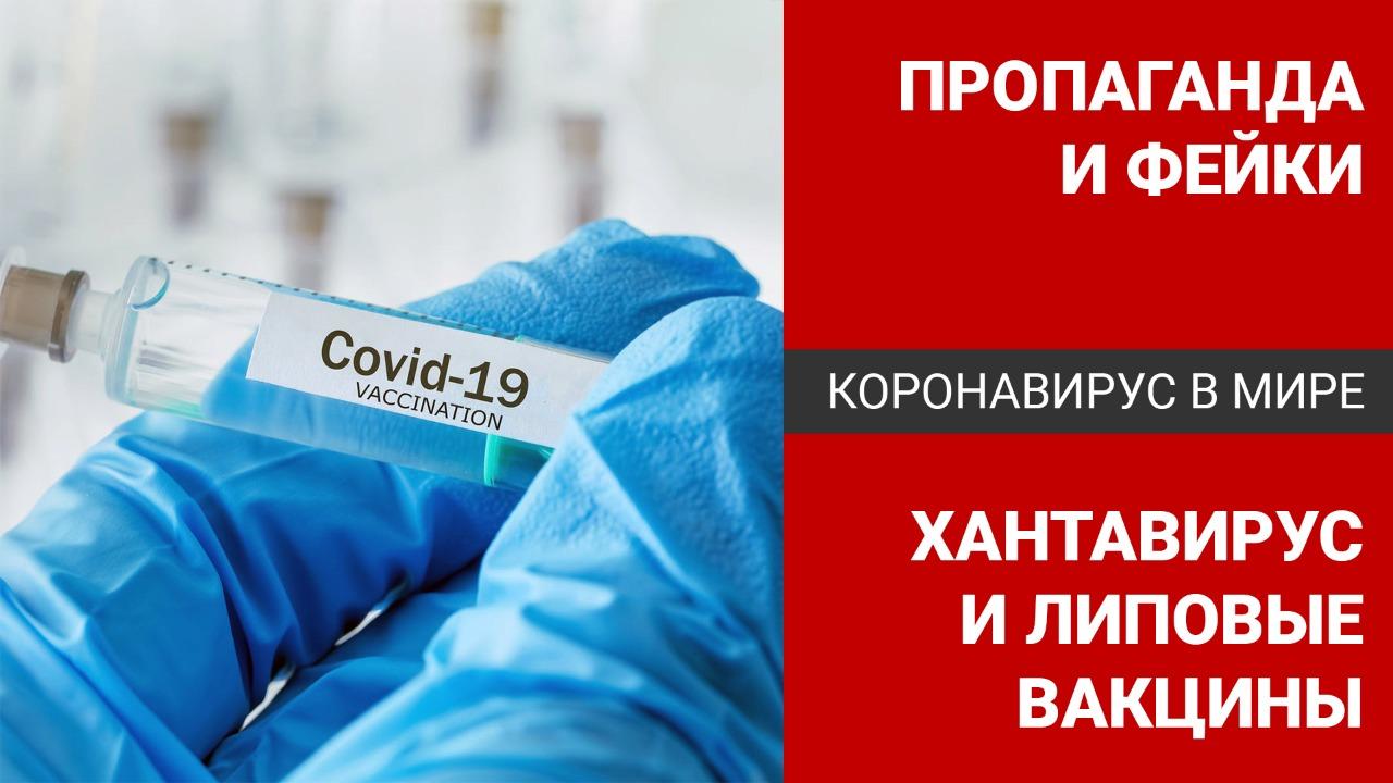 Коронавирус в мире: пропаганда и фейки – хантавирус и липовые вакцины