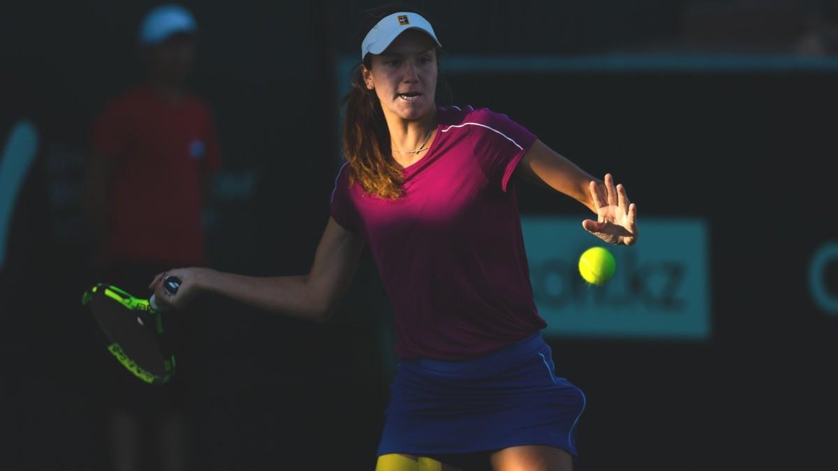 Анна Данилина одержала победу на турнире по теннису в США
