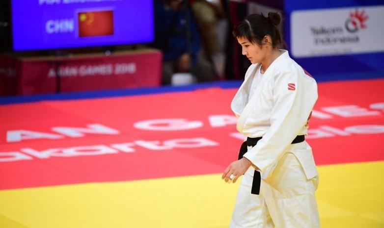 Женская команда Казахстана по дзюдо провела тренировочный сбор на базе AIBA