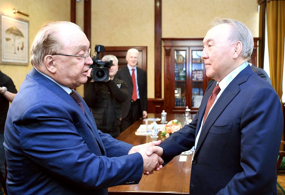 Нурсултан Назарбаев посетил Московский государственный университет имени М. В. Ломоносова