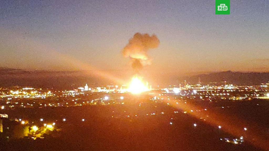 В Каталонии произошел взрыв на нефтехимическом заводе