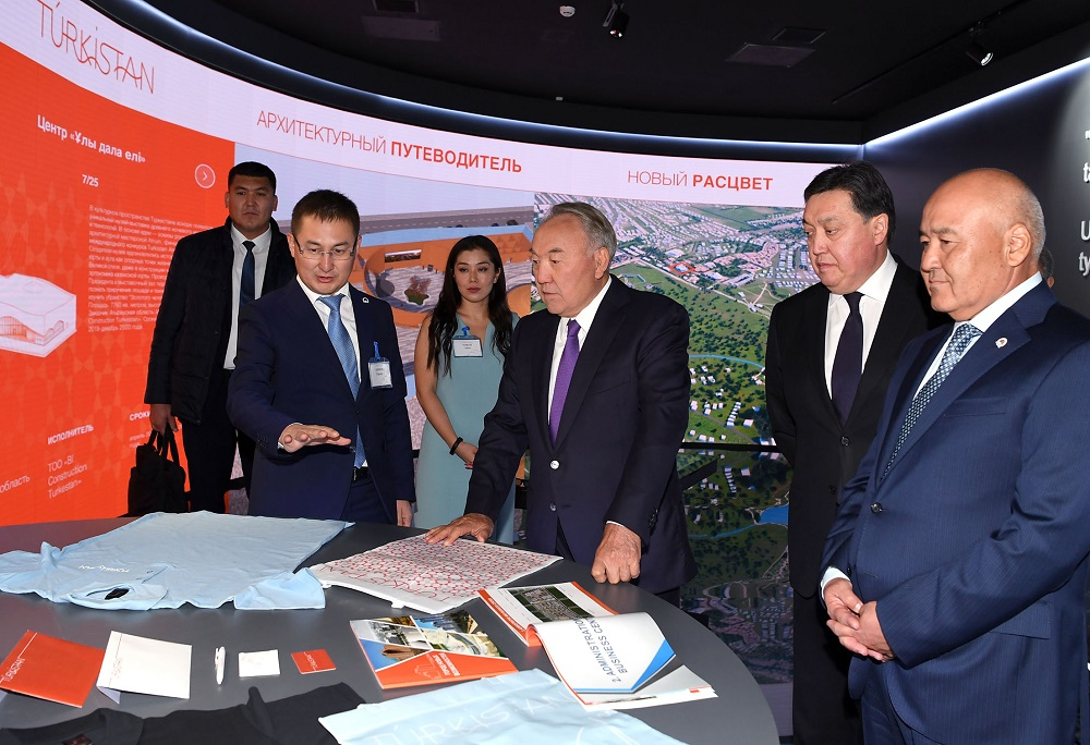 Нурсултан Назарбаев: Весь тюркский мир считает Туркестан центром