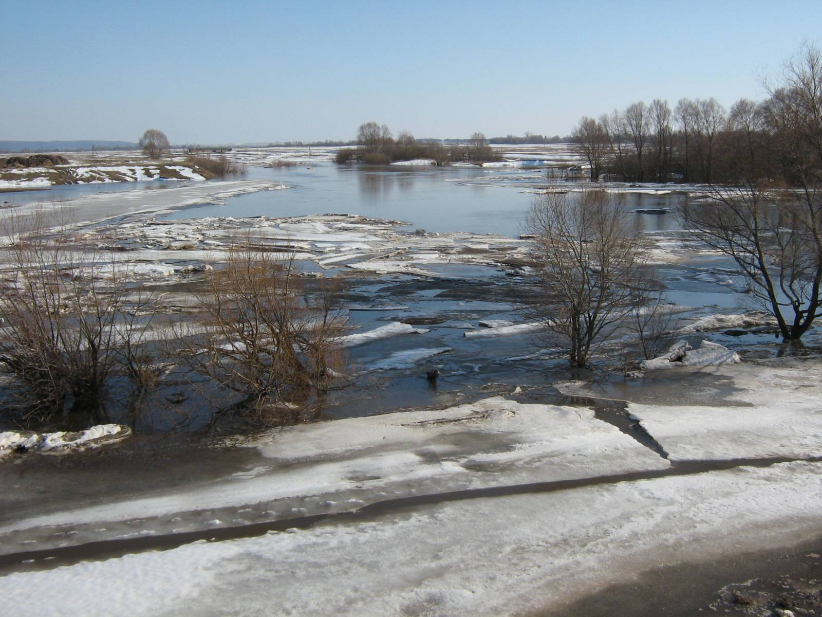 В Северном Казахстане могут эвакуировать жителей из-за большой воды