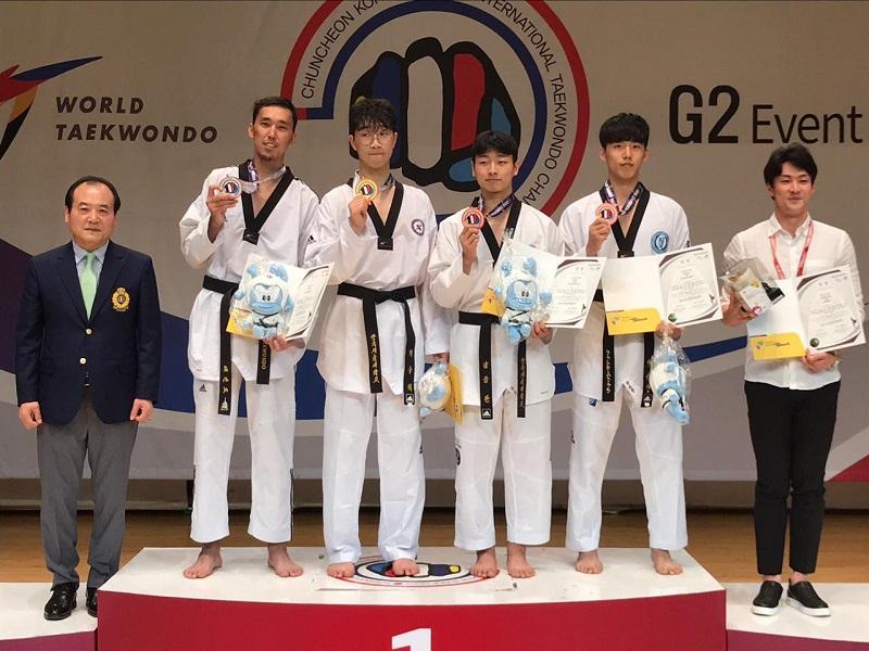 Казахстанские таеквондисты завоевали серебряные награды открытого чемпионата