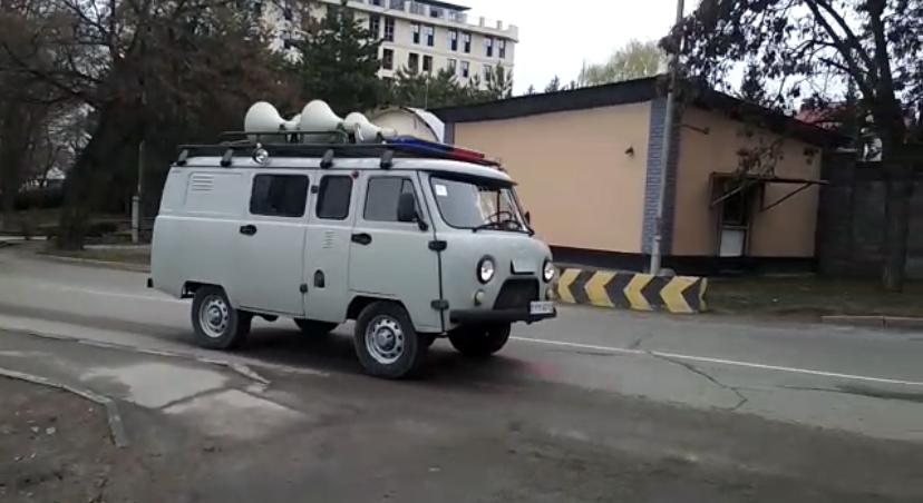 Полиция Алматы запустила по городу спецтранспорт с СГУ