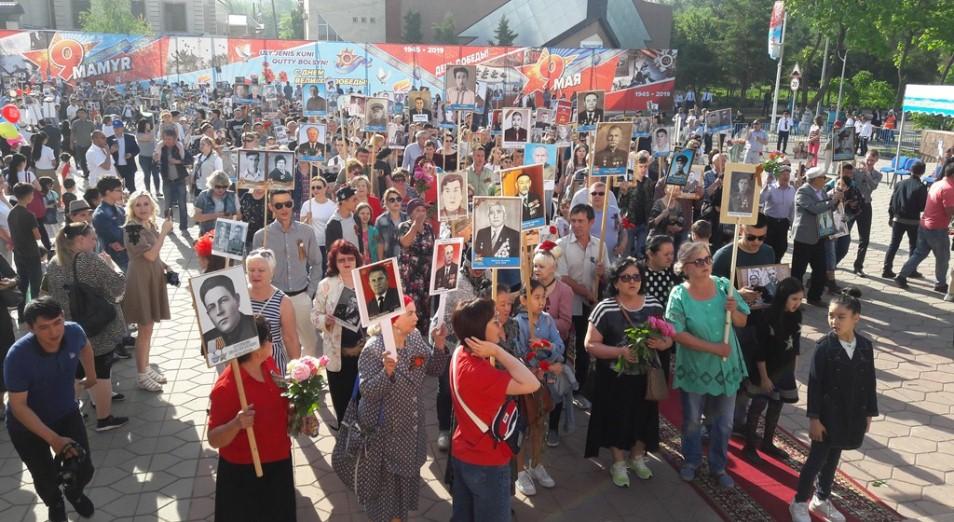 Казахстан отмечает День Победы