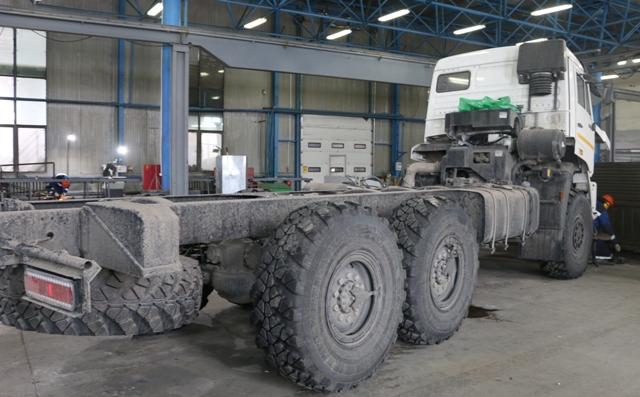 Уникальную спецтехнику делают в Павлодаре на заводе «Темiрмаш»