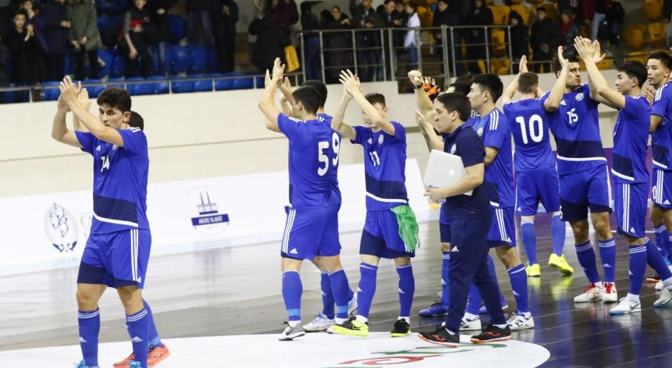Казахстан в третий раз пробился на футзальный мундиаль