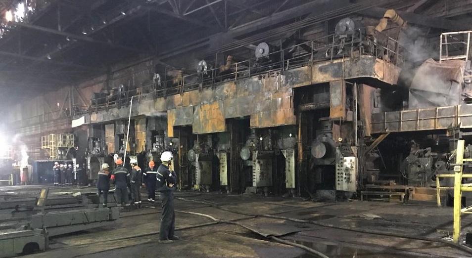 На «АрселорМиттал Темиртау» запустили сгоревший в октябре шестиклетевой стан