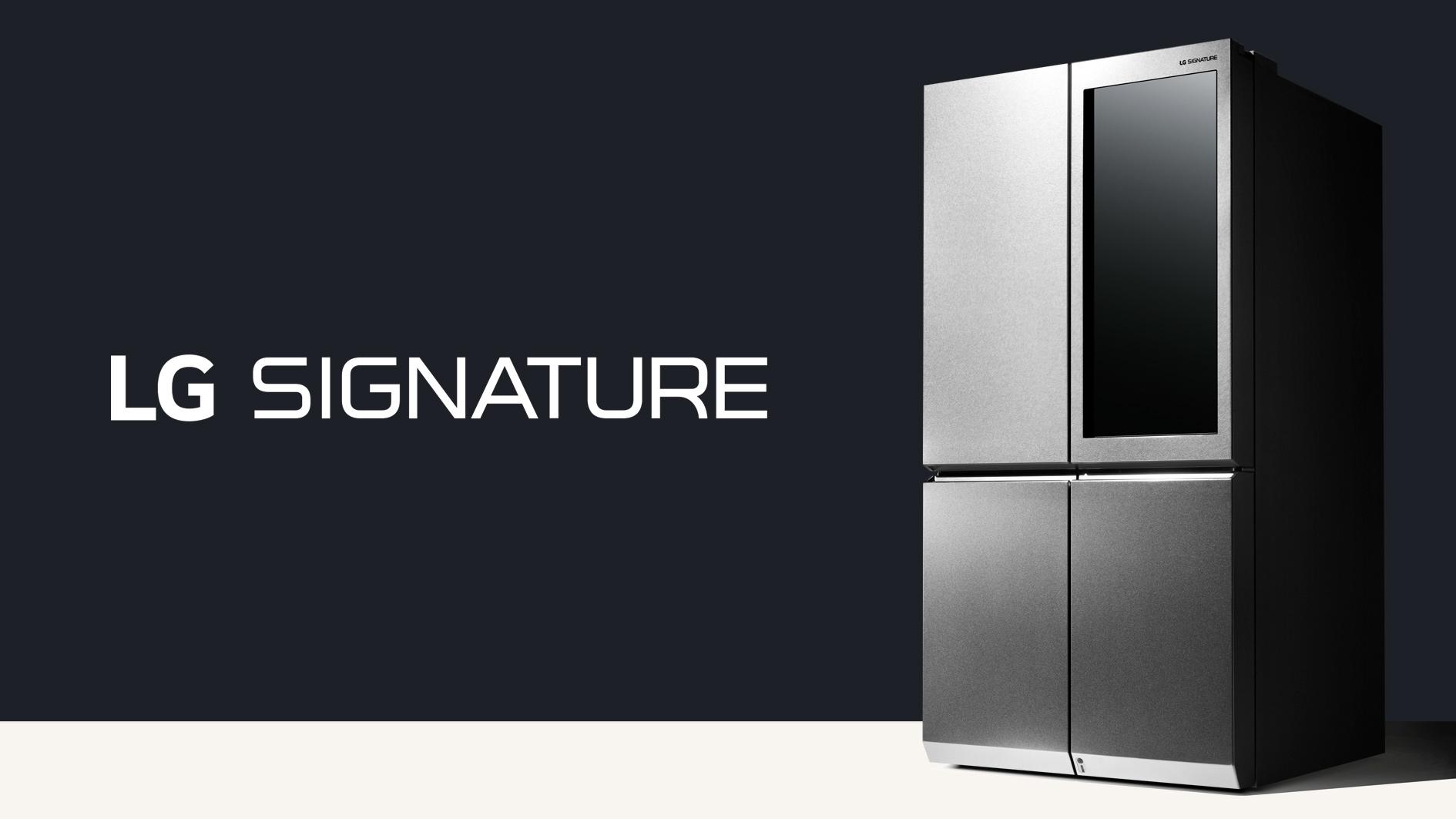LG SIGNATURE – техника, продуманная до мелочей