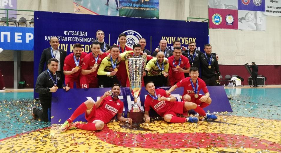 «Кайрат» выиграл Кубок Казахстана в восьмой раз подряд