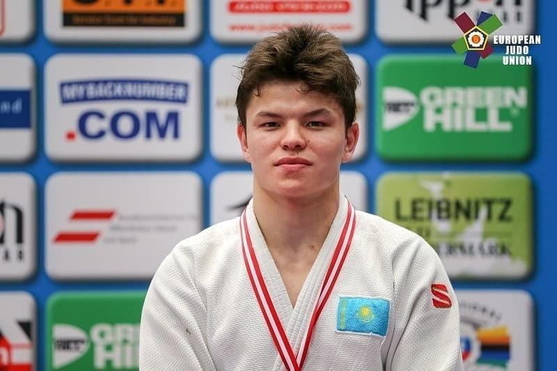 Бахытжан Абдурахманов завоевал «золото» на Кубке Европы по дзюдо