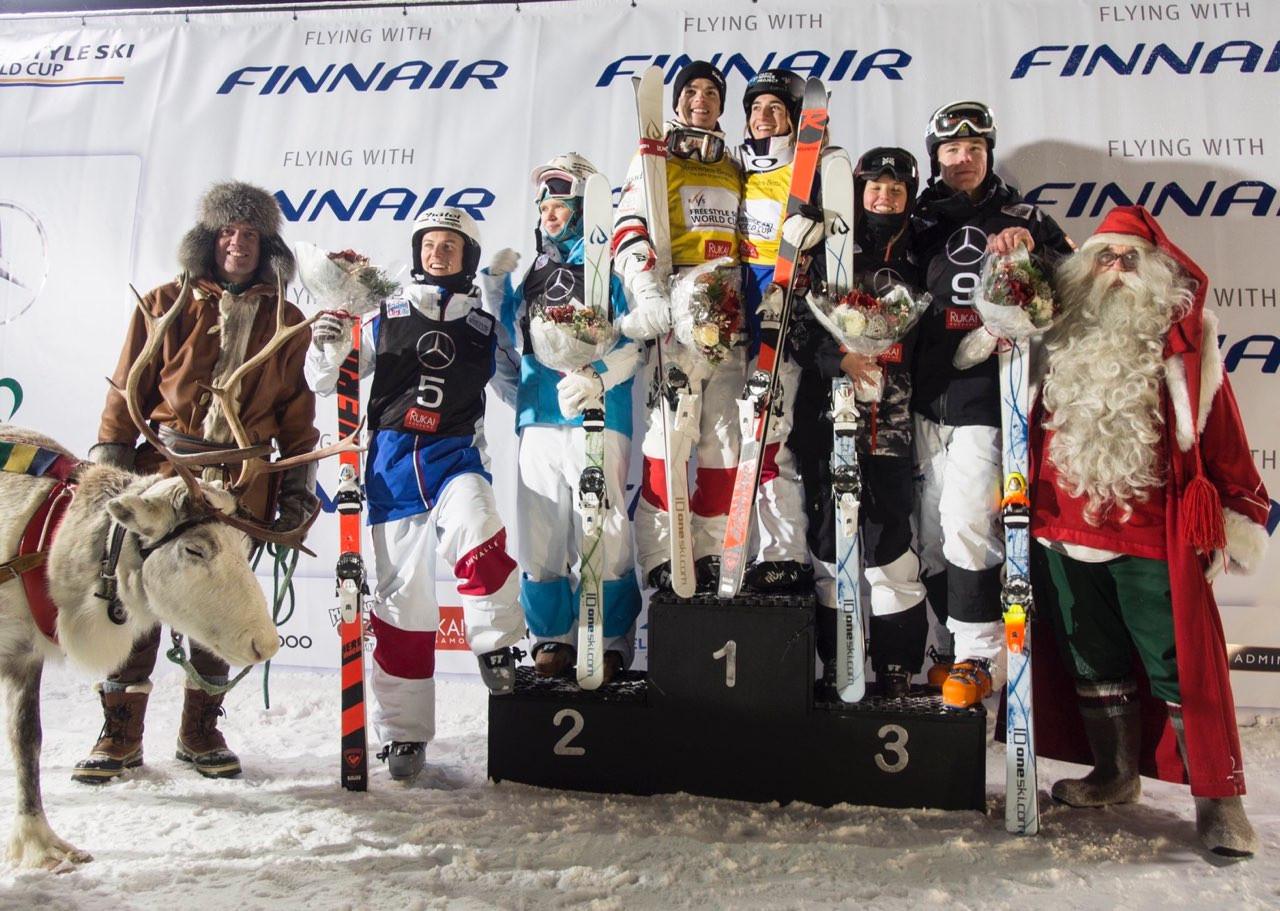 Казахстанская фристайлистка стала второй на первом этапе Кубка мира в Финляндии
