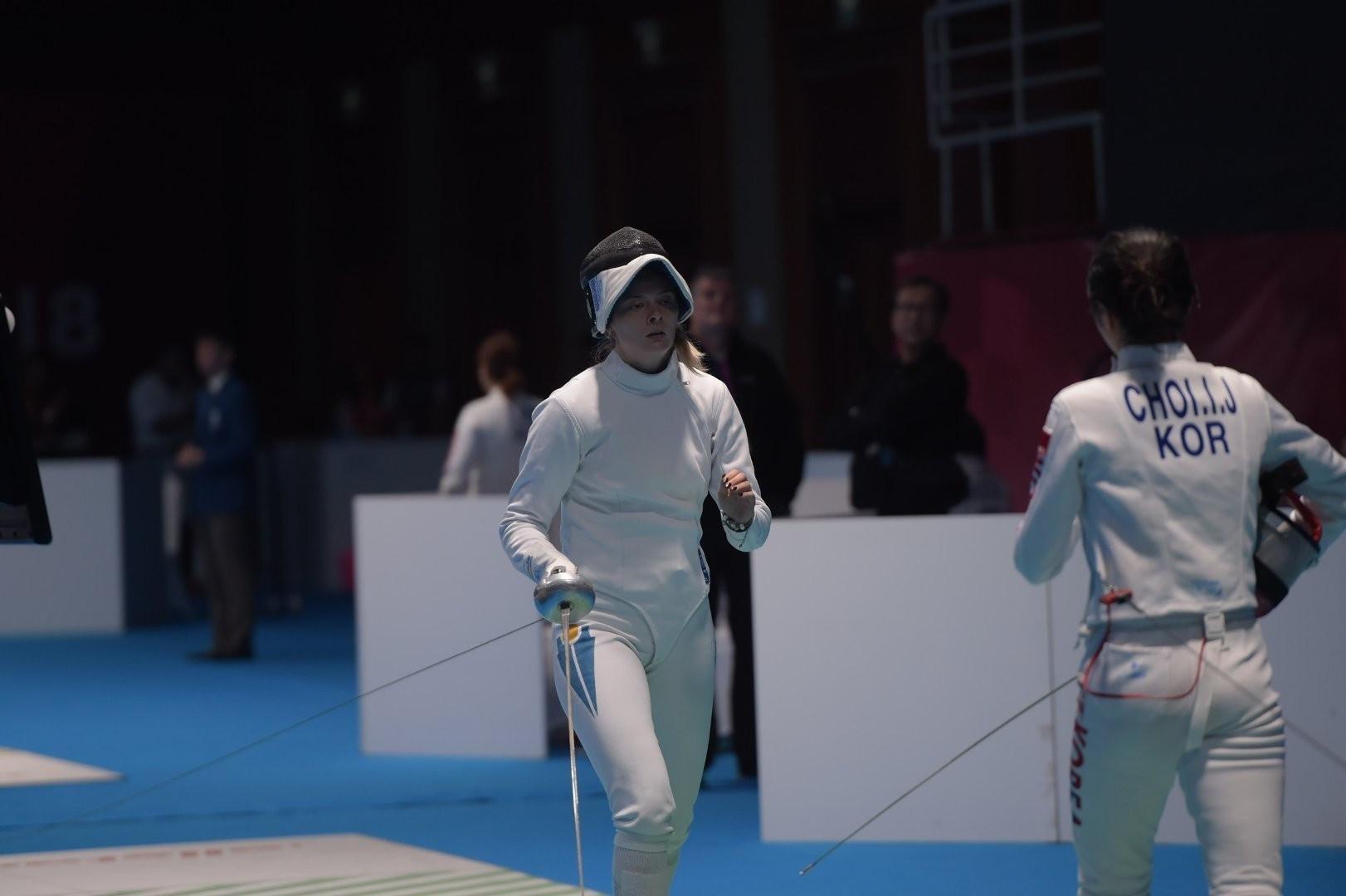 Ульяна Балаганская завершила выступление на Гран-при по фехтованию