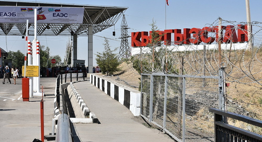 КПП на казахстанско-киргизской границе работают в штатном режиме